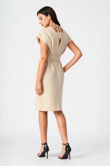 Платье Vladini 4041 бежевый