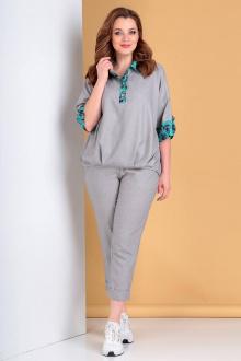 Liona Style 752 серый/бирюза
