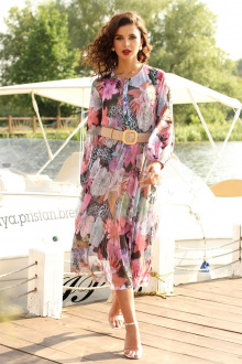 Мода Юрс 2550  розовые_цветы