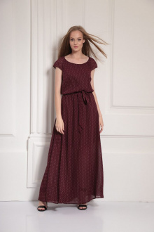 платье AMORI 9476 вино