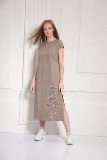 Платье AMORI 9478 бежевый