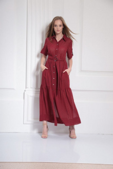 Платье AMORI 9480 малина