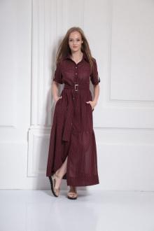 Платье AMORI 9480 вино