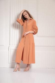 платье AMORI 9485 терракот