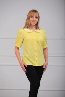 Блуза LUXTEX 0715 лимон