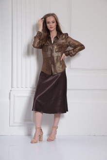 юбка AMORI 3099 шоколад