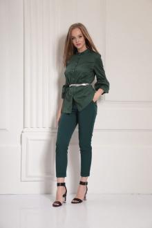 Блуза AMORI 6313 зеленый