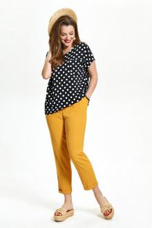 блуза,  брюки TEZA 1514 желтый