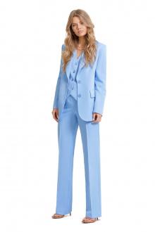 брюки,  жакет PiRS 1336 голубой