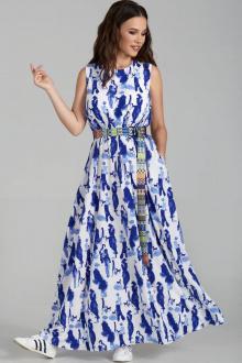 Teffi Style L-1484 бело-синий