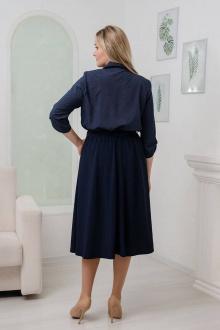 Viktoria 114 темно-синий+синяя-юбка