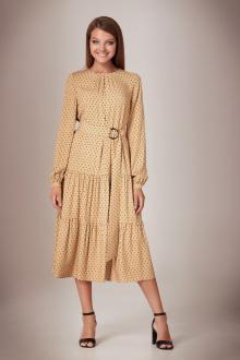 Andrea Fashion AF-28/4 горох_беж