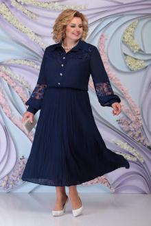 платье Ninele 5791 темно-синий