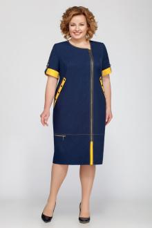Tellura-L 1201  лето_темно-синий+горчица