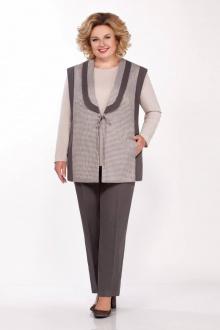 брюки,  джемпер,  жакет LaKona 1263 песочно-серый