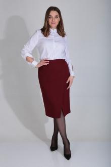 юбка MALI 209 бордовый