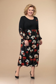 Svetlana-Style 1428 черный+цветы