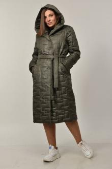 пальто Diamant 1549 т.олива