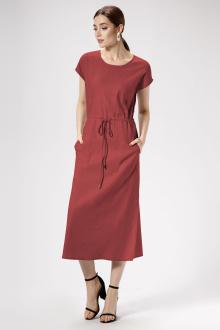 платье Панда 476280 бордовый