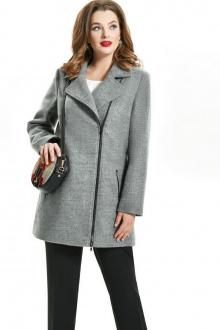 пальто TEZA 1565 серый