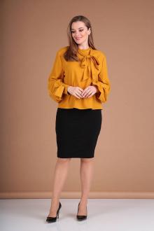 блуза Таир-Гранд 62392 горчица