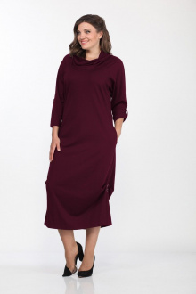 Lady Style Classic 1233/3 бордо