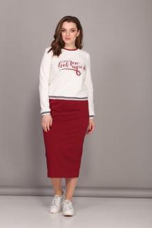 Комплект Bonna Image 442 белый-красный