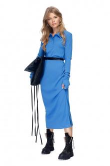 платье PiRS 1415 голубой