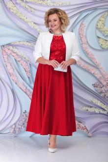 жакет,  платье Ninele 359 красный