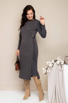 платье Daloria 1676 серый