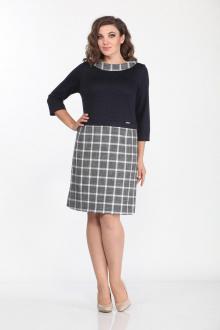 Lady Style Classic 1447 серый-синий