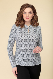 Блуза DaLi 4068 серая