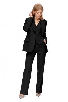 брюки,  жакет PiRS 1387 черный