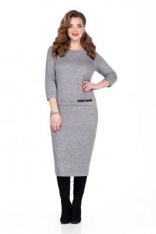 платье TEZA 115 серый