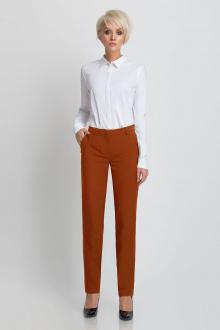 брюки Prio 187460 терракотовый