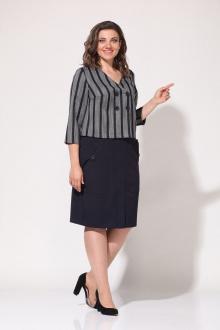 Lady Style Classic 2226/1 темно-синий-серый
