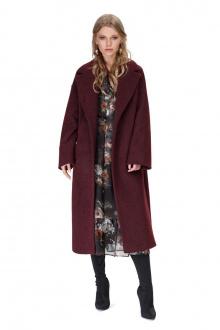 пальто PiRS 1411 бордо
