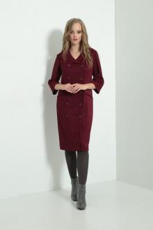 платье AMORI 9503 бордо