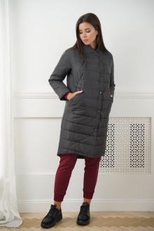 пальто LadisLine 1147 черный