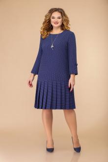Svetlana-Style 1429 синий+белый_горох