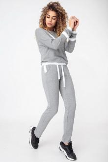 брюки,  свитшот HIT 3077 серый