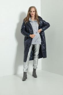 пальто AMORI 2104 синий