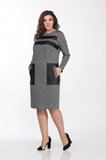 Lady Style Classic 2147 серый-черный