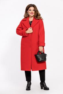 Пальто TEZA 246 красный