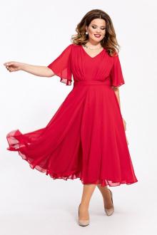 платье TEZA 1455 красный