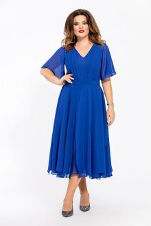 платье TEZA 1455 василек