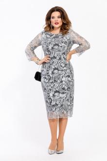 платье TEZA 1456 серый
