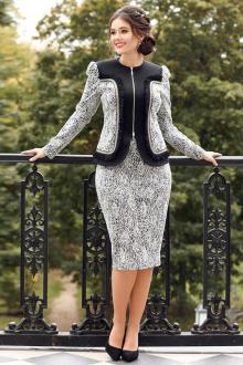 Мода Юрс 2540  серый-черный