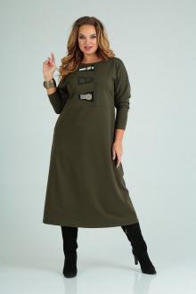 платье SOVITA M-2013 олива