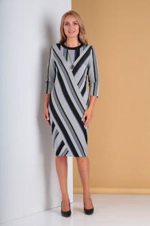 платье Moda Versal П2221 голубая_полоска